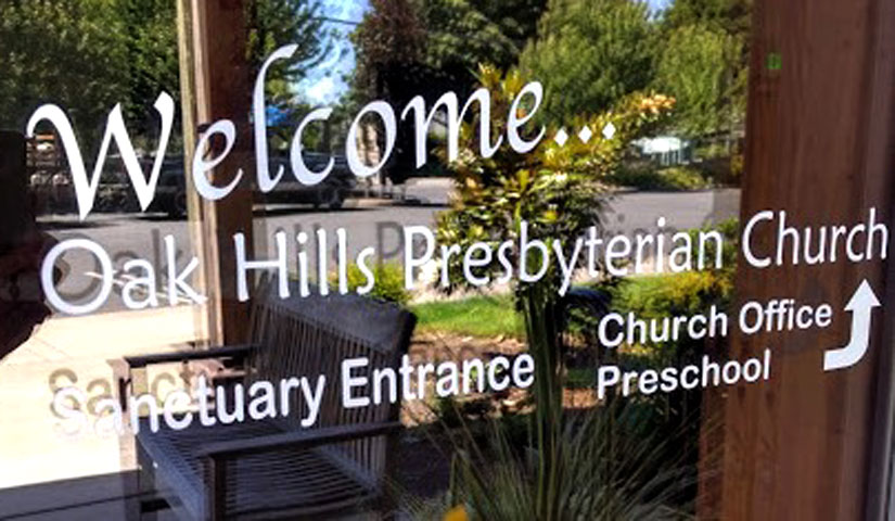 Welcome oak hills presbyterian